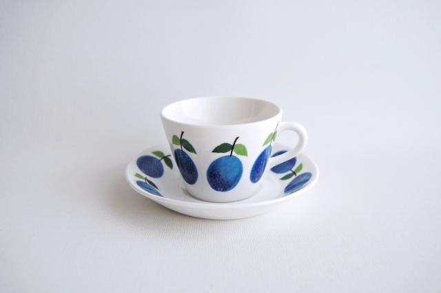 GUSTAVSBERG/グスタフスベリ Prunus/プルーヌス コーヒーカップ&ソーサー 013