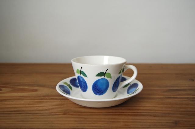 GUSTAVSBERG/グスタフスベリ Prunus/プルーヌス コーヒーカップ&ソーサー 005