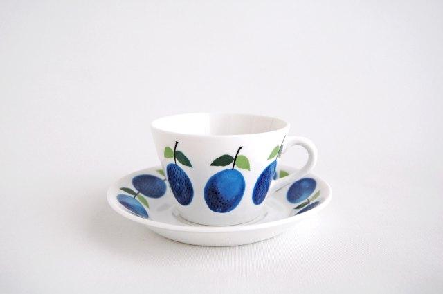 GUSTAVSBERG/グスタフスベリ Prunus/プルーヌス コーヒーカップ&ソーサー 001