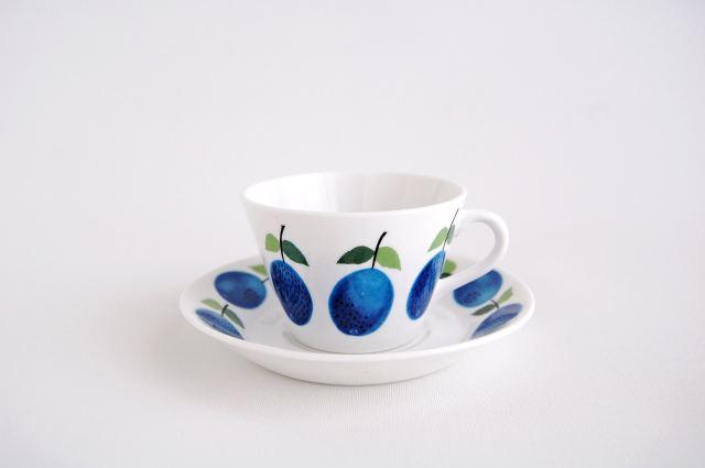 GUSTAVSBERG/グスタフスベリ Prunus/プルーヌス コーヒーカップ&ソーサー 004