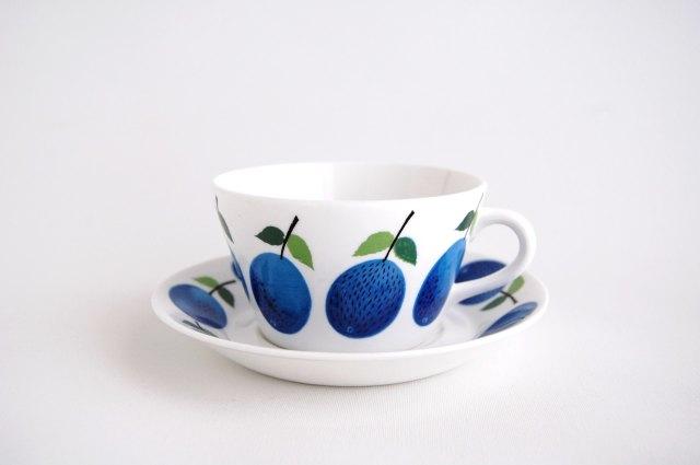 GUSTAVSBERG/グスタフスベリ Prunus/プルーヌス ティーカップ&ソーサー 002