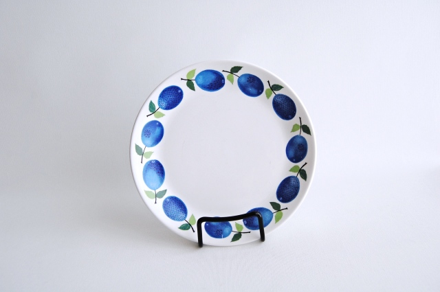 GUSTAVSBERG/グスタフスベリ Prunus/プルーヌス 17cmプレート 008