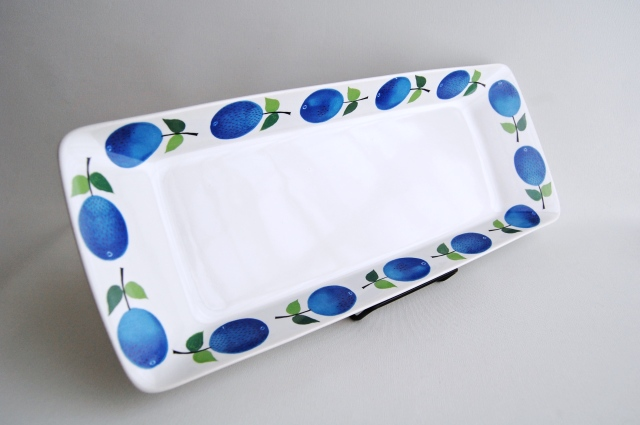 GUSTAVSBERG/グスタフスベリ Prunus/プルーヌス 長方形プレート(中サイズ)