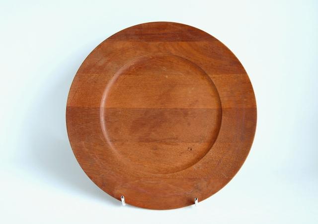 【アウトレット】Kronjyden/クロニーデン Jens H. Quistgaard/イェンス H クイストゴー Wooden Plate/ウッドプレート 004