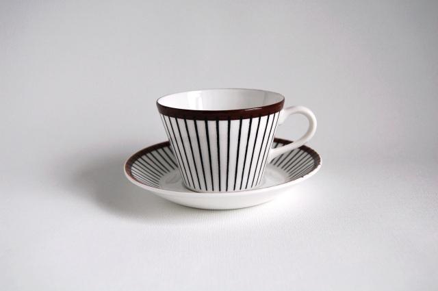 GUSTAVSBERG/グスタフスベリ Spisa Ribb/スピサリブ コーヒーカップ&ソーサー 001
