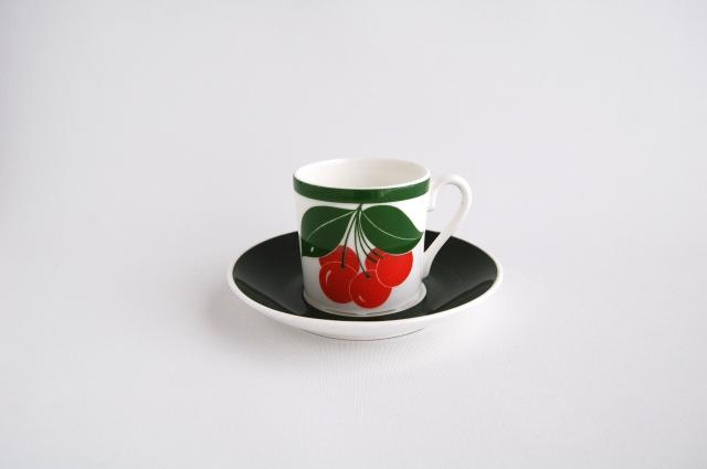 GUSTAVSBERG/グスタフスベリ Korsbar/コルスバー コーヒーカップ&ソーサー 001