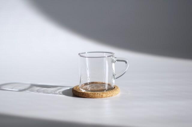 BODA NOVA/ボダノヴァ Signe Persson-Melin/シグネ・ペーション・メリン ガラスカップ&コルクコースターセット