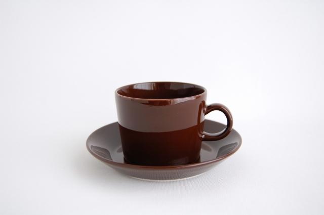 iittala/イッタラ TEEMA/ティーマ ティーカップ&ソーサー ブラウン 002