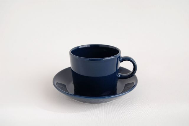 ARABIA/アラビア TEEMA/ティーマ コーヒーカップ&ソーサー ブルー002
