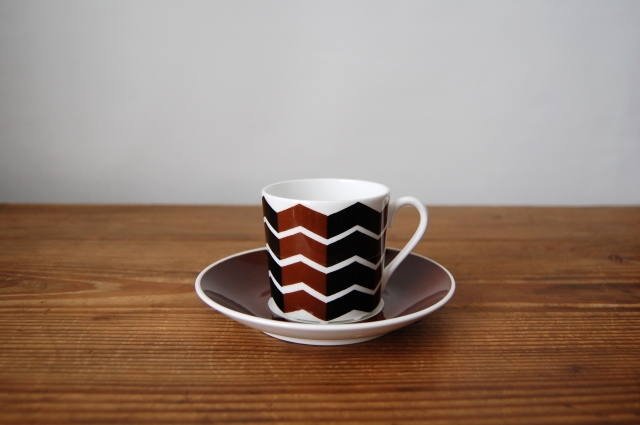 Gustavsberg/グスタフスベリ Viggen コーヒーカップ&ソーサー【複数在庫あり】