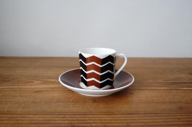 Gustavsberg/グスタフスベリ Viggen コーヒーカップ&ソーサー