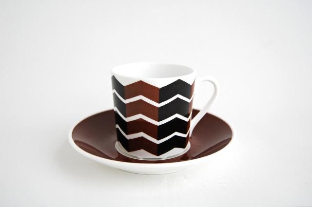 Gustavsberg/グスタフスベリ Viggen コーヒーカップ&ソーサー 001