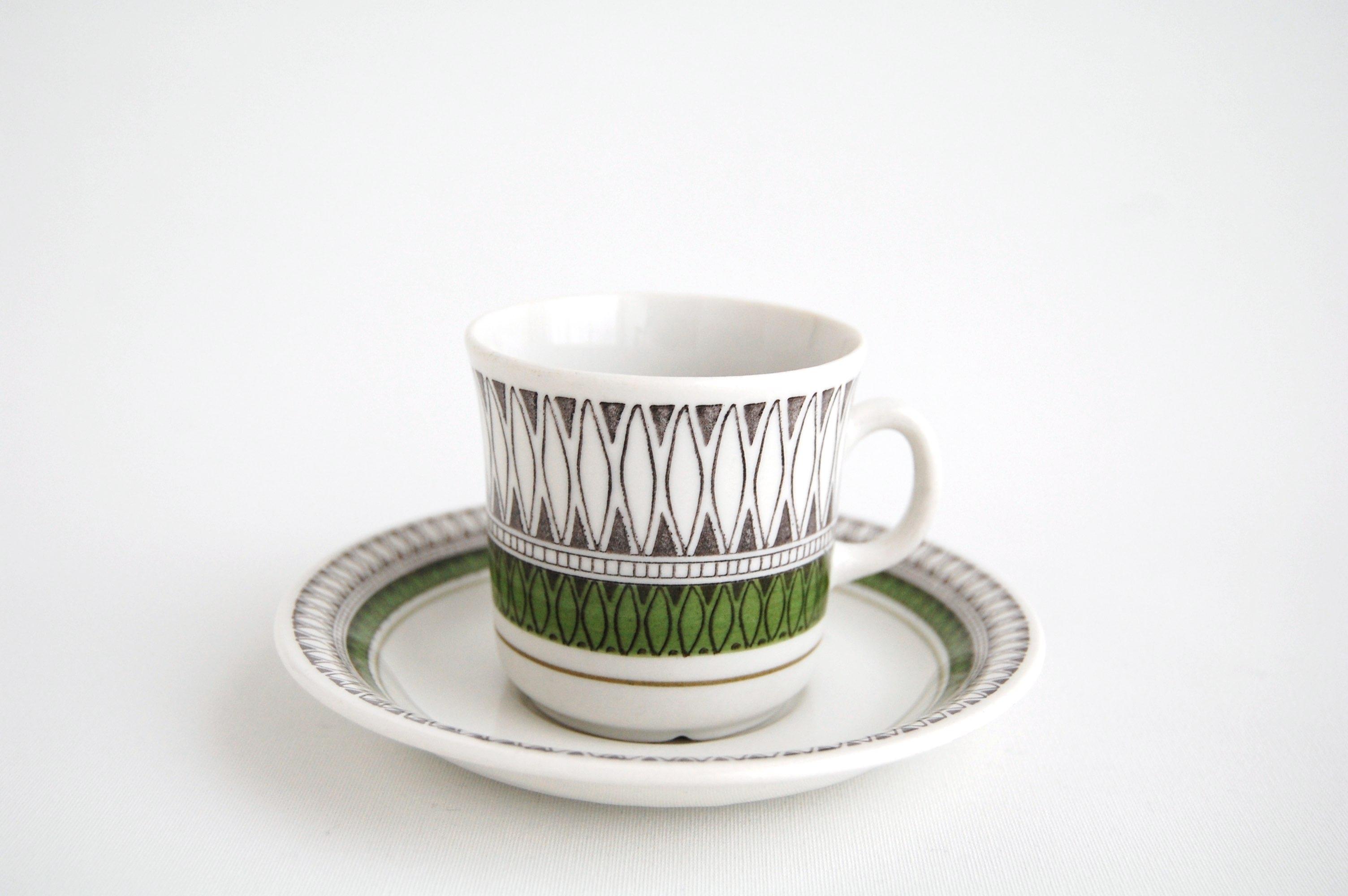 【お客様ご予約品】Gefle/ゲフレ MEXICO/メキシコ コーヒーカップ&ソーサー 002