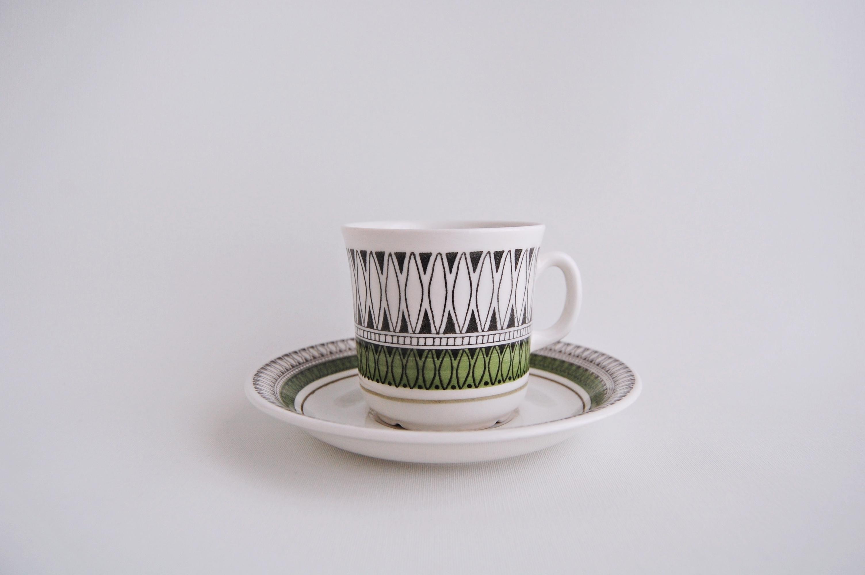 Gefle/ゲフレ MEXICO/メキシコ コーヒーカップ&ソーサー 001