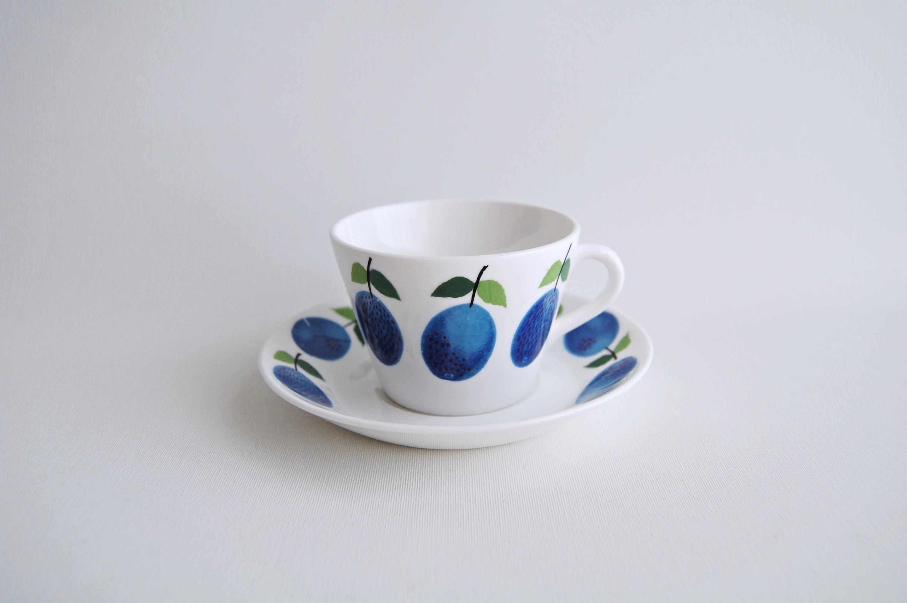 GUSTAVSBERG/グスタフスベリ Prunus/プルーヌス コーヒーカップ&ソーサー 015