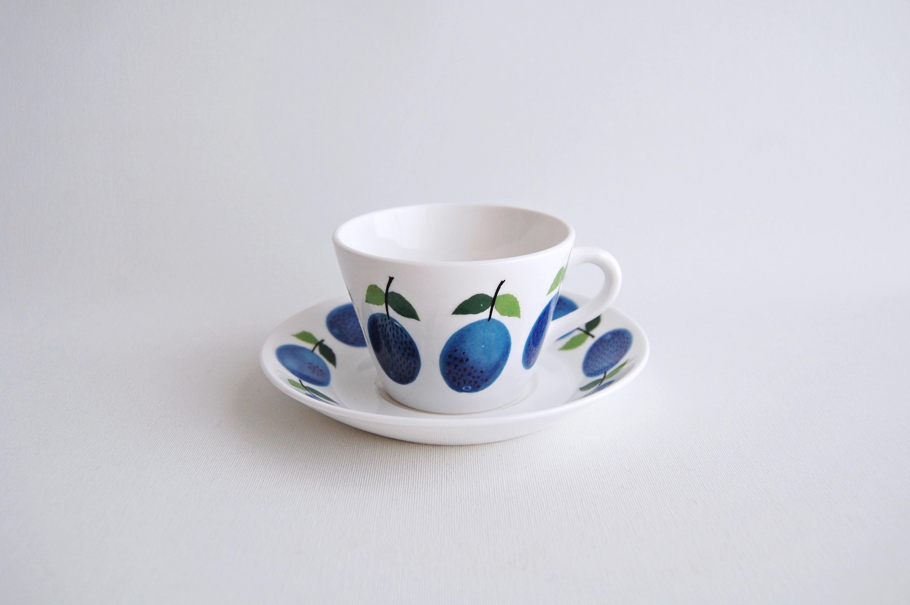 GUSTAVSBERG/グスタフスベリ Prunus/プルーヌス コーヒーカップ&ソーサー 014