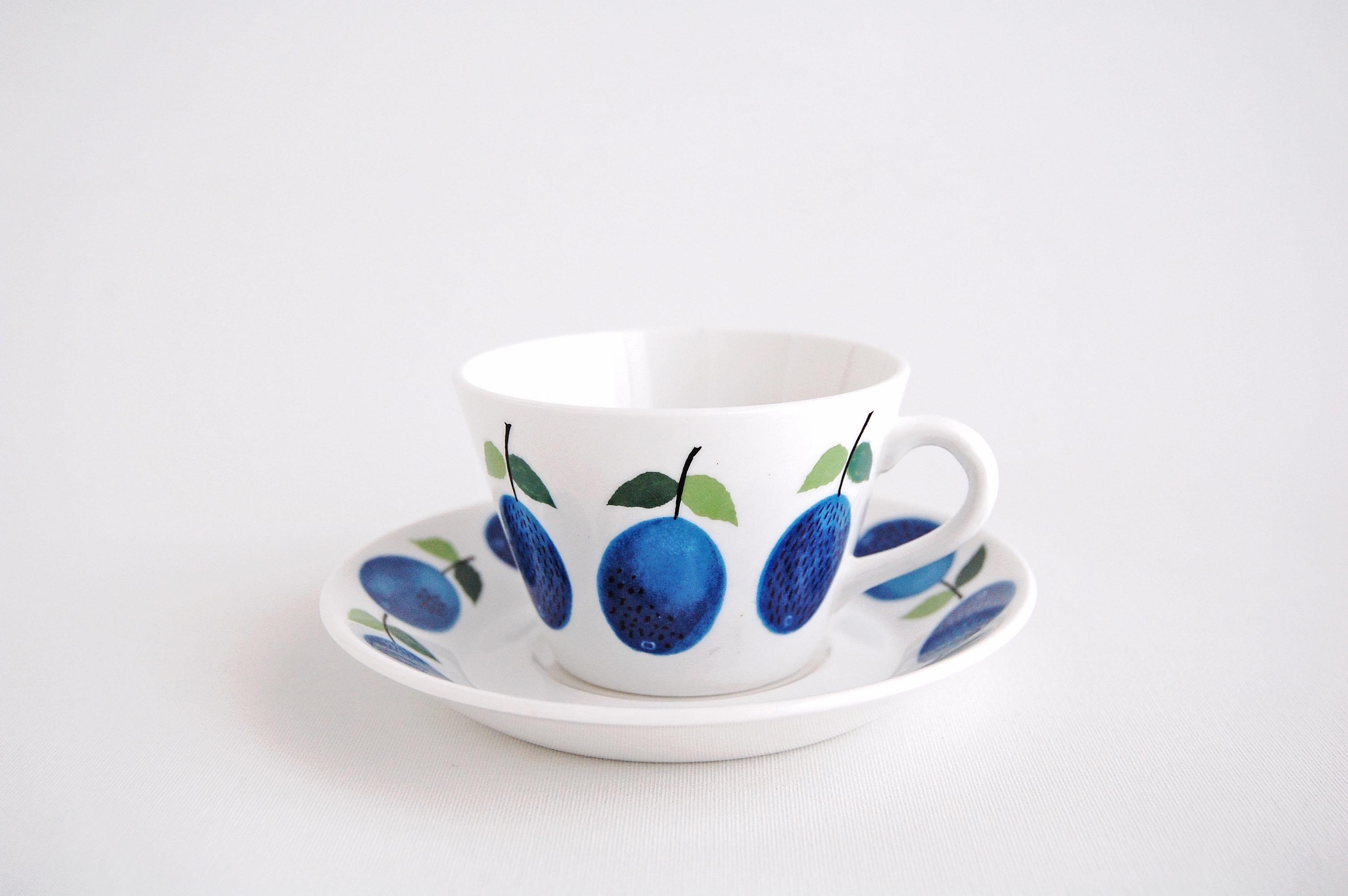 GUSTAVSBERG/グスタフスベリ Prunus/プルーヌス コーヒーカップ&ソーサー 002
