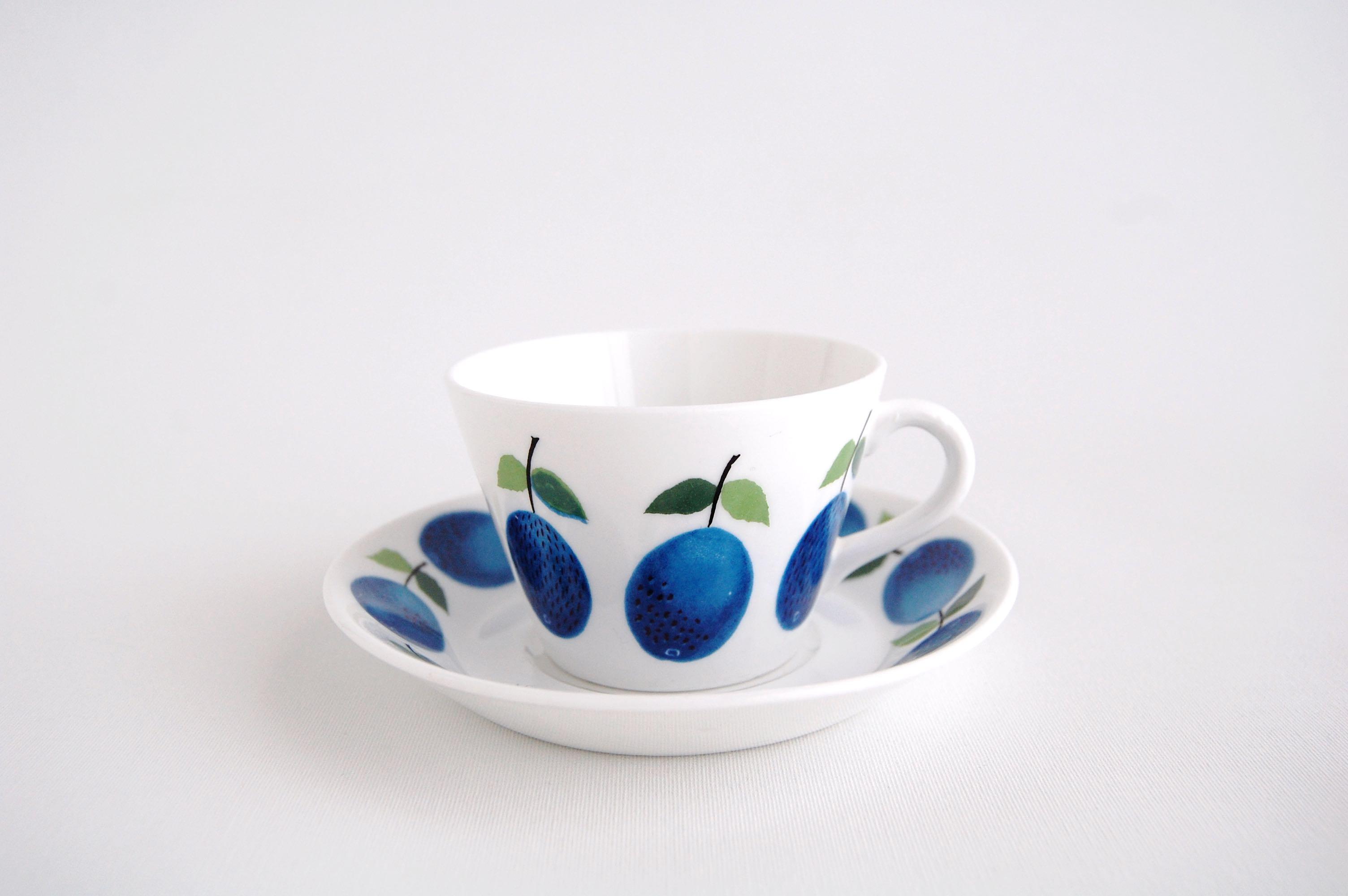 GUSTAVSBERG/グスタフスベリ Prunus/プルーヌス コーヒーカップ&ソーサー 003
