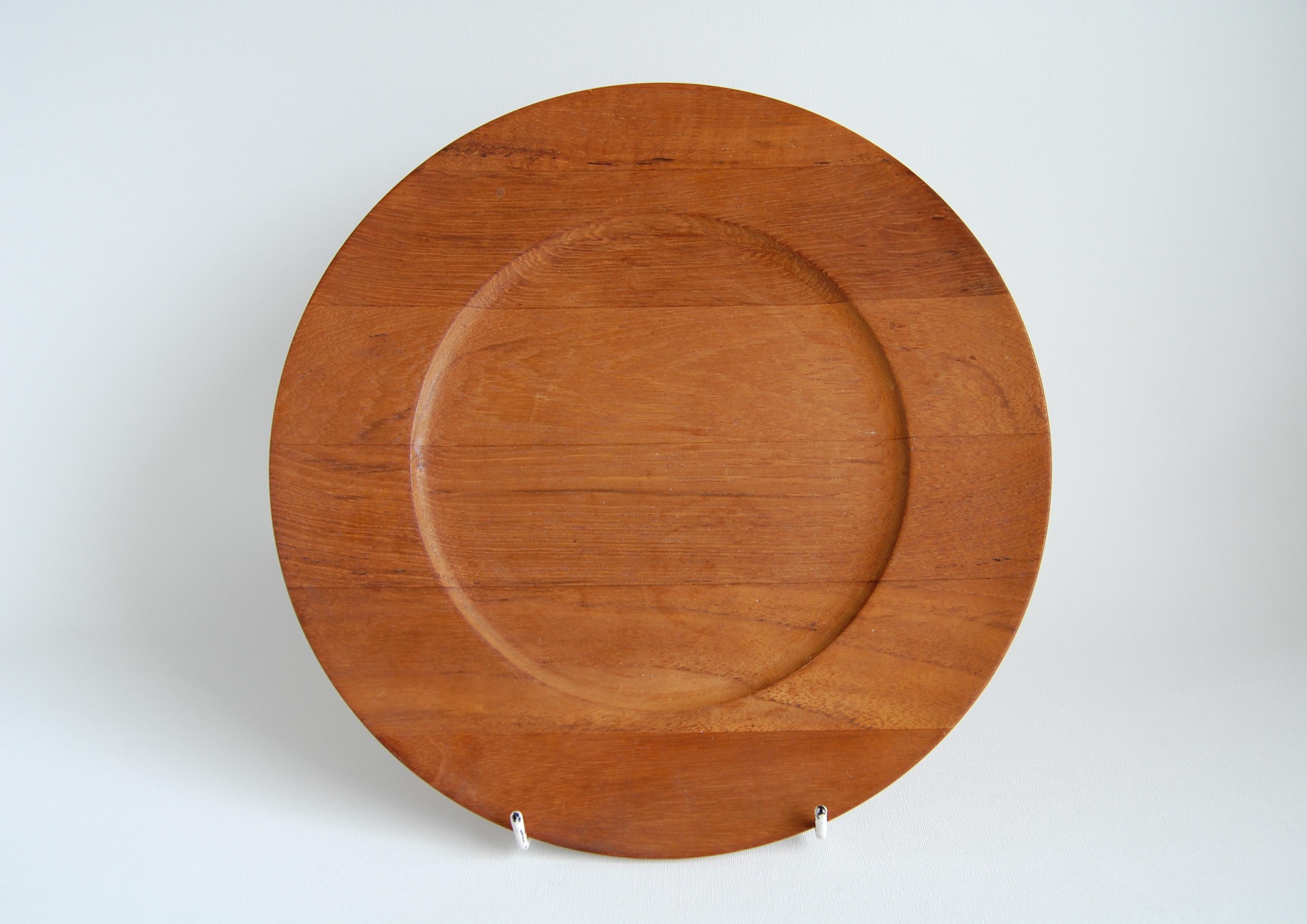 Kronjyden/クロニーデン Jens H. Quistgaard/イェンス H クイストゴー Wooden Plate/ウッドプレート 005