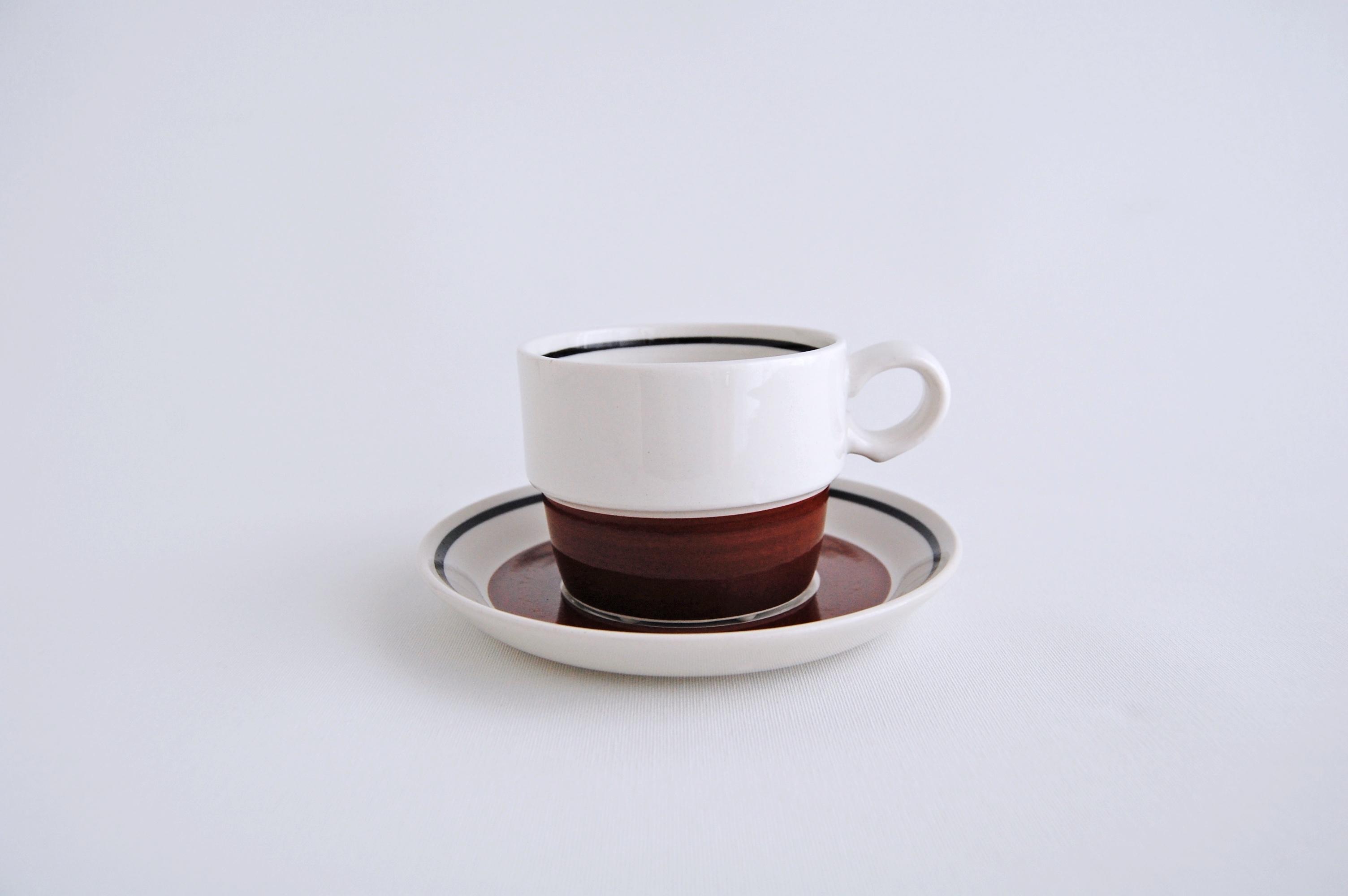 GUSTAVSBERG/グスタフスベリ Siena/シエナ コーヒーカップ&ソーサー 001