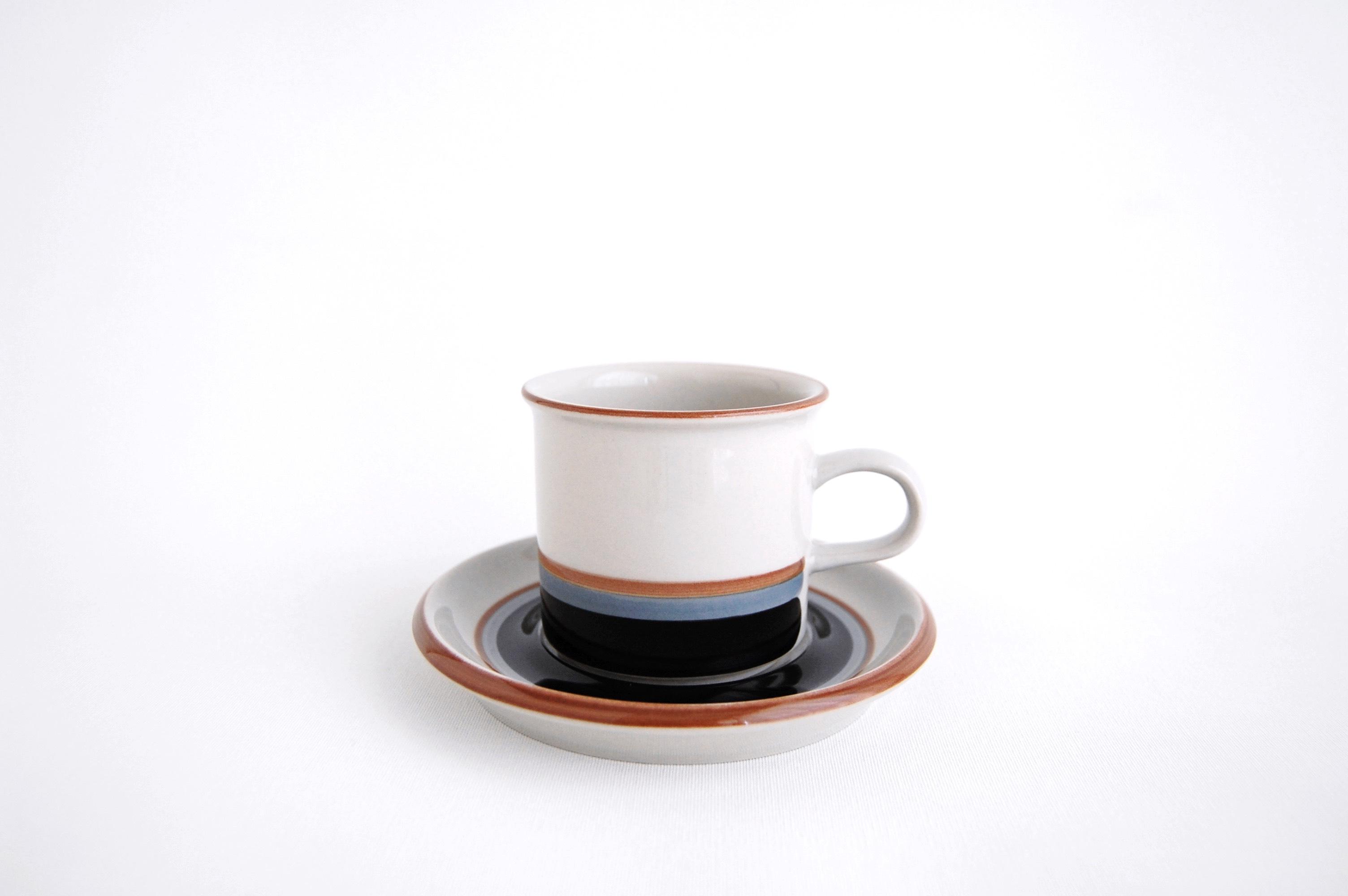 ARABIA/アラビア Taika/タイカ コーヒーカップ&ソーサー(ショートサイズ) 001