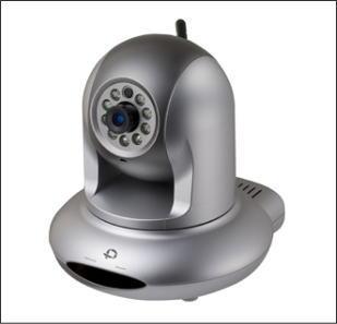 Planex CS-WMV04N2/プラネックス製パンチルト無線・赤外線ネットワークカメラ