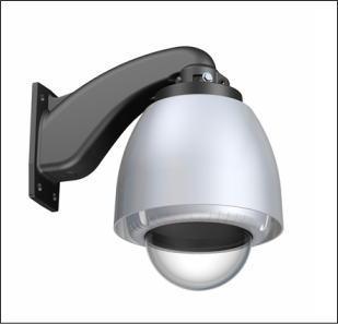 A-ODW5C1S(透明カバー)/A-ODW5T1S(スモークカバー)/ASC製ネットワークカメラ用サンシールド付き屋外ハウジング