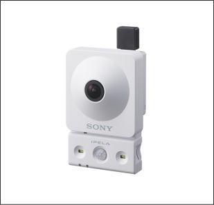 SONY SNC-CX600W ソニー製コンパクトサイズ無線LAN&HD対応ネットワークカメラ