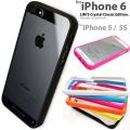 LIM'S iPhone6S ケース iPhone6 ケース iPhone SE ケースiPhone5S iPhone5 iPhoneSE バンパー クリアケース 6S ケース 6 5S 5 カバー アイフォン6S アイフォン5S アイフォン6 ブランド シリコン ストラップ 透明 薄い スマホケース アイフォン ストラップホール