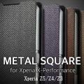 METAL SQUAR 手帳型 ケース XperiaXZs XperiaXZ Premium XperiaX XperiaZ5 XperiaZ4 XperiaZ3 手帳 カバー Xperia XZs SO-03J エクスペリアXZs SOV35 XZ SO-01J エクスペリアXZ SOV34 プレミアム X performance SO-04H Z5 Z4 Z3 手帳型ケース エクスペリア スマホケース