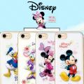 iPhone7 iPhone7PLUS iPhone6S iPhone6SPLUS iPhone6 PLUS Galaxy S7 edge SC-02H SCV33 3D デザイン ディズニー TPU ケース PLUSケース アイフォン7 7 6S 6 カバー iPhone7ケース バンパー キャラクター ミッキー ミニー ドナルド デイジー かわいい おしゃれ