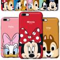 iPhoneX iPhone8 iPhone7 iPhone6S iPhone6 PLUS galaxy S8 SC-02J SCV36 S8+ SC-03J SCV35 ケース ディズニー iPhone8PLUS iPhone X 8 7 6S カバー かわいい キャラクター アイフォン8 ミッキー ミニー ドナルド デイジー チップ デール プルート グーフィー iPhone7ケース