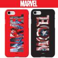iPhoneX iPhone8 iPhone X 8 7 PLUS iPhone7 マーベル スリムフィット ハード ケース キャプテンアメリカ スパイダーマン iPhone7ケース iPhone8PLUS iPhone8ケース iPhoneXケース アイフォンX アイフォン8 アイフォン7 おしゃれ カバー バンパー キャラクター スマホケース