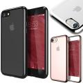 iPhone8 iPhone 8 7 PLUS iPhone7 META CHROM バンパー メタリック TPU クリア ケース カバー アイフォン7 アイフォン ブランド ソフト iPhone8ケース アイフォン8 iPhone8PLUS 薄い 透明 スマホケース かわいい おしゃれ 対衝撃 iPhone7ケース クリアケース
