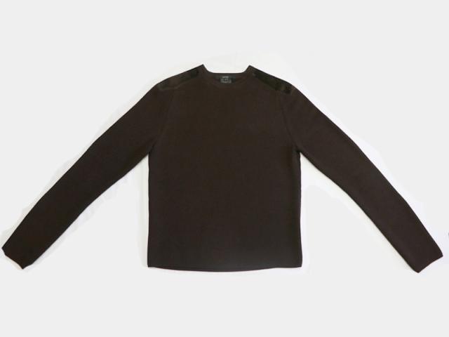 〇新着 送料無料【GUCCI グッチ】長袖 ニット ウール100% ブラウン サイズL イタリア製 メンズ 10157-0