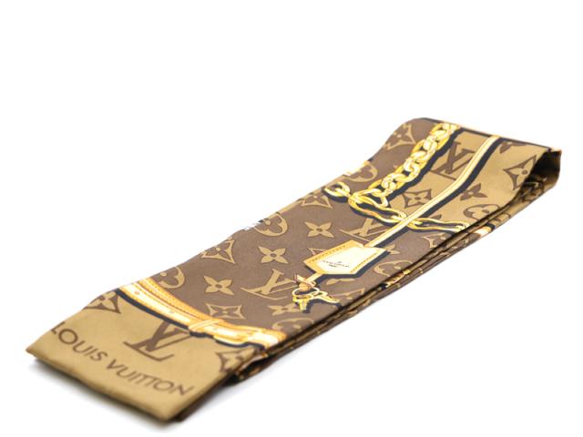 【ルイヴィトン LOUIS VUITTON】スカーフ バンドー ツイリー モノグラム レディース 新着 12903-0