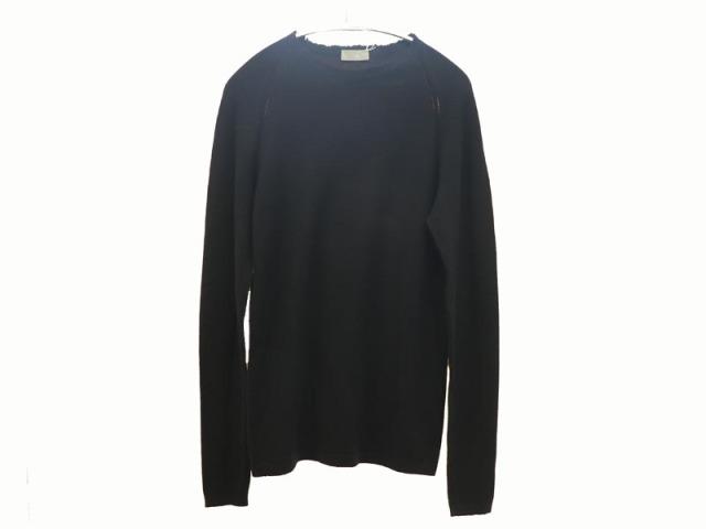 〇新着 値下げ【Dior ディオール】ウール ニット サイズXXS ブラック イタリア製 レディース 13190-0