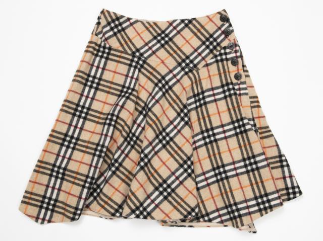 〇新着【BURBERRY バーバリー】 スカート サイズ38 レディース 4647-0