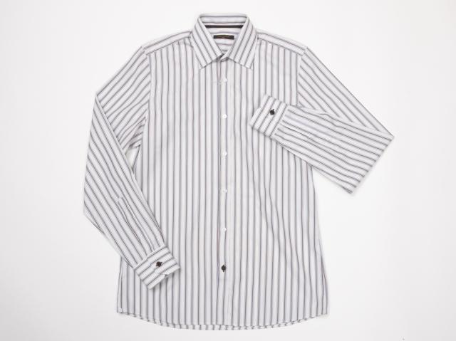〇新着【LOUIS VUITTON ルイヴィトン】 シャツ サイズ38 イタリア製 メンズ 4652-0