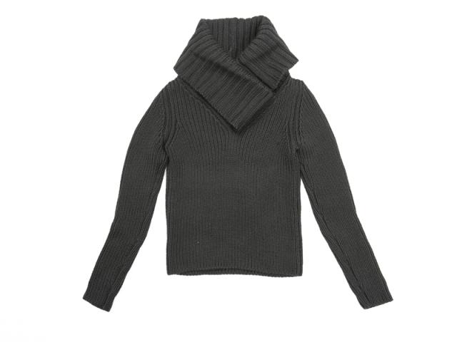〇新着 送料無料【GUCCI グッチ】ウールニット 長袖セーター ブラック サイズXS レディス 5953-0【中古】
