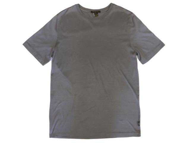 〇新着【LOUIS VUITTON ルイヴィトン】半袖 Tシャツ  グレイ サイズS イタリア製 メンズ 8747-0