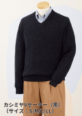 今冬新アイテム、大人の品格漂う「カシミヤV襟セーター」