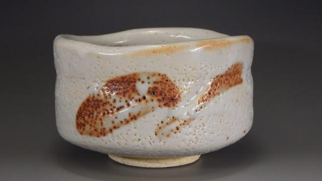 虎渓窯(美濃焼志野抹茶茶碗)