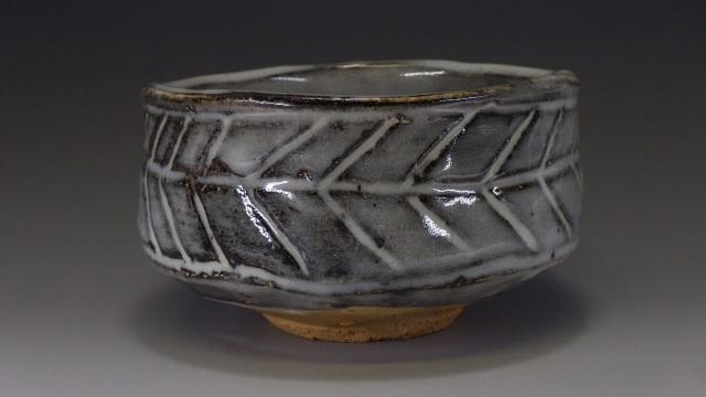 金陵窯(岡山鼠志野抹茶茶碗)