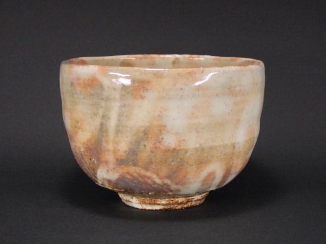 納富鳥雲(萩焼窯変抹茶茶碗)