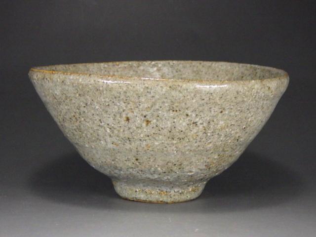 喜多村午郎(いもじ焼貝釉抹茶茶碗)