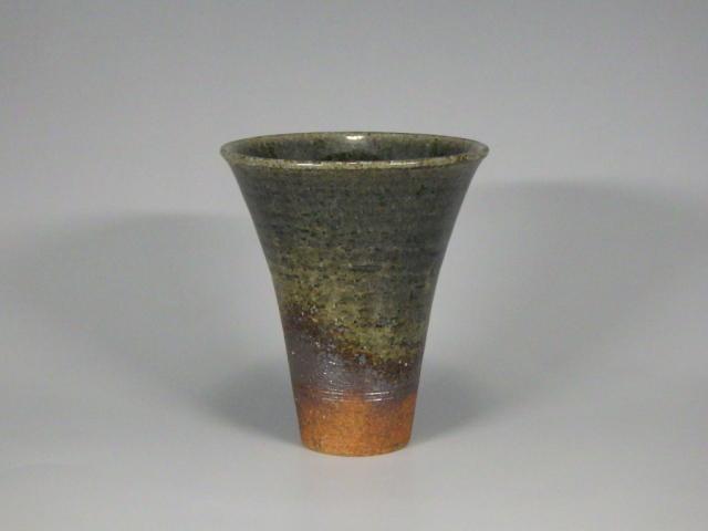 和楽(丹波焼締めぐい飲み)