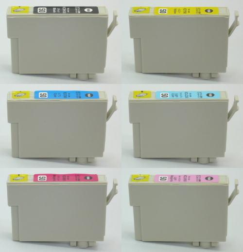 エプソン IC6CL50 ★スーパー低価格互換 交換補償付 お好み6本セット