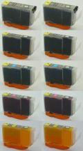 キャノンBCI-9BK/7e●互換インク 安心サポート付●お好み10本セット【送料無料】