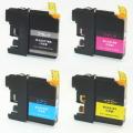 ブラザー LC217 LC215 互換 ICチップ付 お好み4色セット LC217/215-4PK【送料無料】